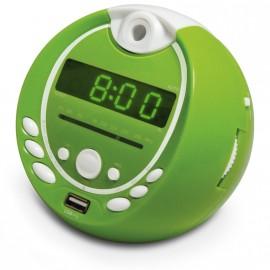 Radio réveil MP3 Gulli - Vert