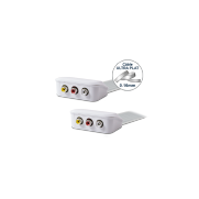 Cordon 3 RCA audio + vidéo WIRESLIM - 5m
