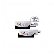 Cordon 3 RCA audio + vidéo WIRESLIM - 2m