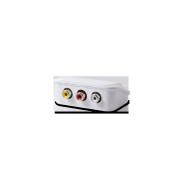 Connecteurs 3 RCA audio + vidéo WIRESLIM