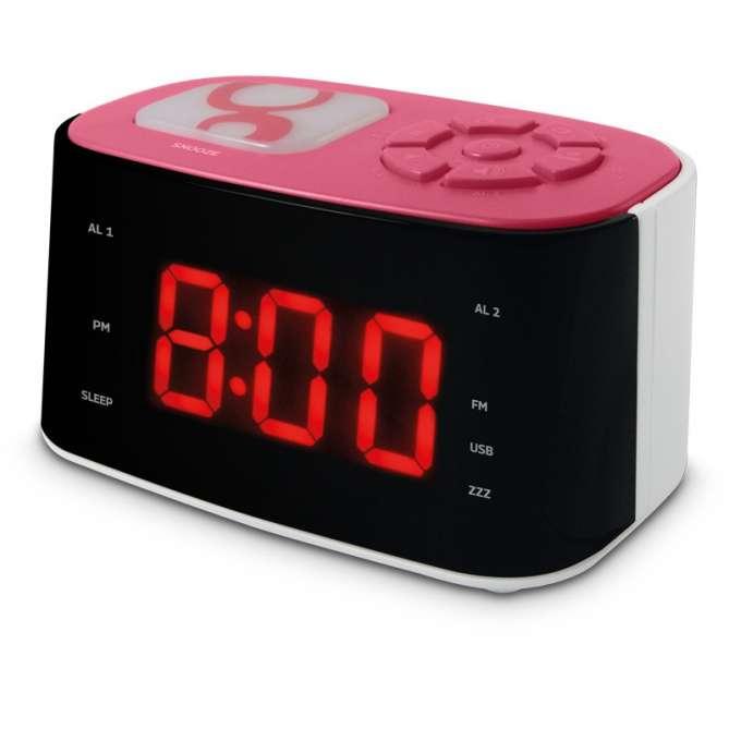 Radio réveil veilleuse Gulli
