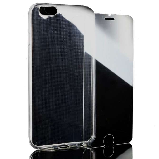 Kit de protection coque + verre trempé pour iPhone 7/8/SE 2020