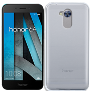Coque silicone Honor 6A - Transparent