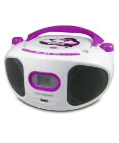 Pack enfant Miss Angel - Radio CD, Radio-réveil et enceinte Bluetooth