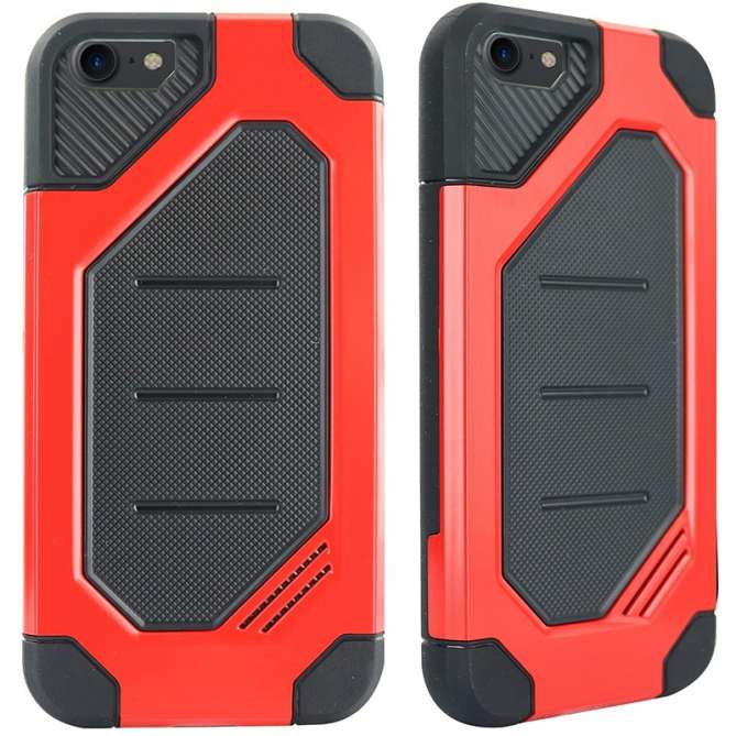 Coque rigide 'Ultimate' pour iPhone 6/6S - rouge