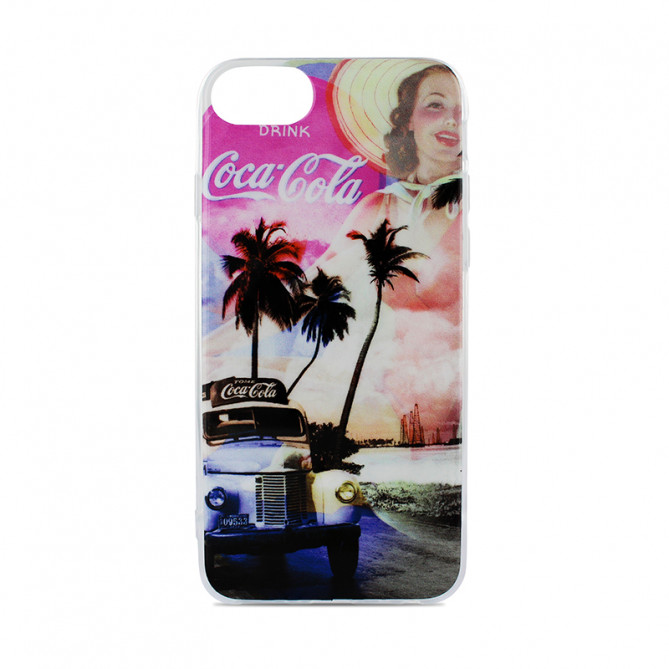 Coque semi-rigide Pin-up summer  pour iPhone 6/6S/7/8/SE 2020